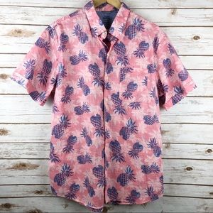 Izod Saltwater Related Classics Tropical Shirt XL